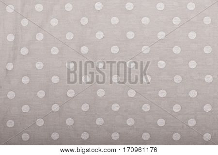light gray tile pattern or textures set with white polka dots on light gray background