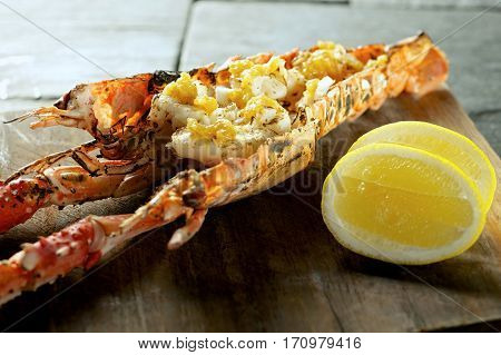 Lobster Prawn Food