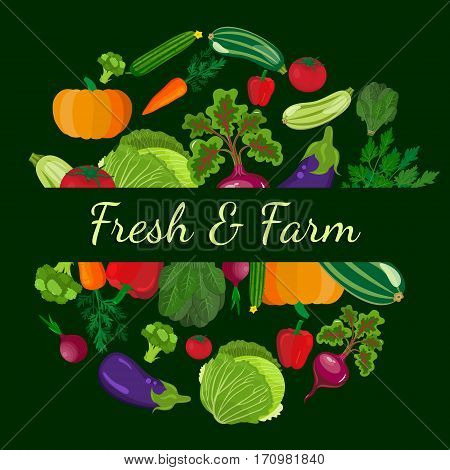 Healthy vegetables and vegetarian food banners on green blackboard. Fresh organic food healthy eating . Vegetarian food and organic farming designor background organic natural realistic vegetable.