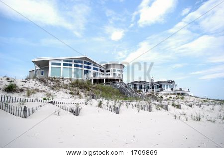 Mansion On Beach
