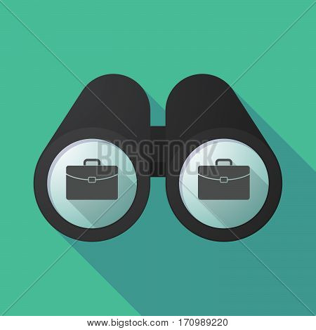 Long Shadow Binoculars With  A Briefcase