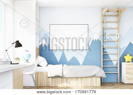 Close Up Of Kid's Room With Table