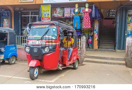 The Tuk-tuk Rickshaw