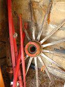 Red Wagon Wheel 2