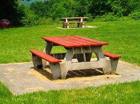 Picnic Table.