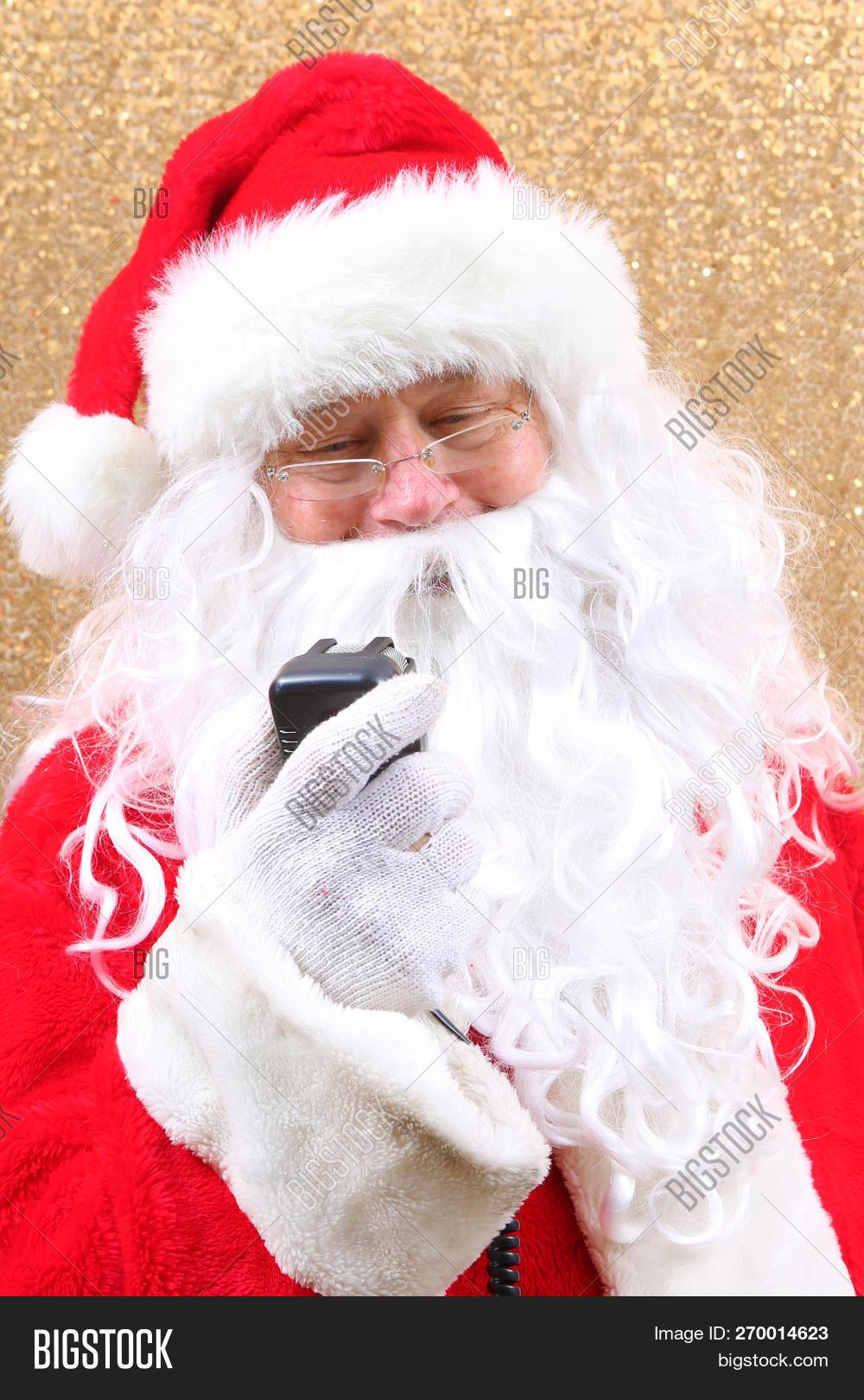 Free Christmas Radio.Santa Claus Santa Image Photo Free Trial Bigstock