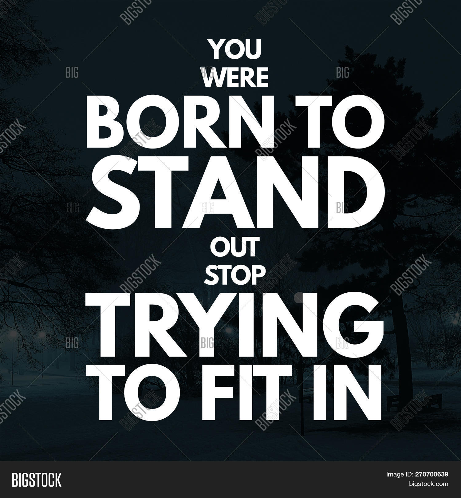 Inspirational Quotes Image Photo Free Trial Bigstock