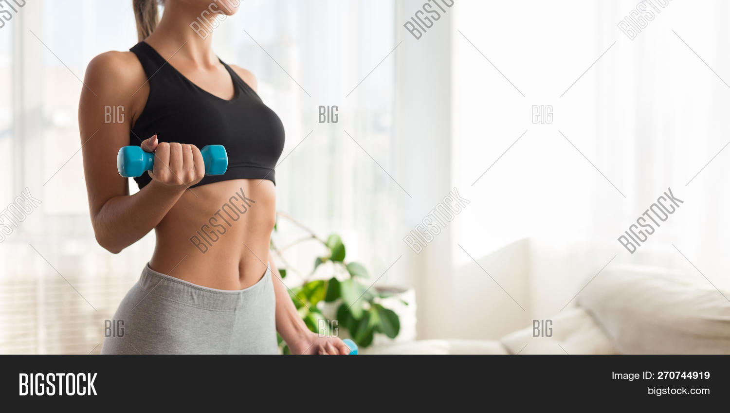 Weight Exercise  Slim Image & Photo (Free Trial) | Bigstock