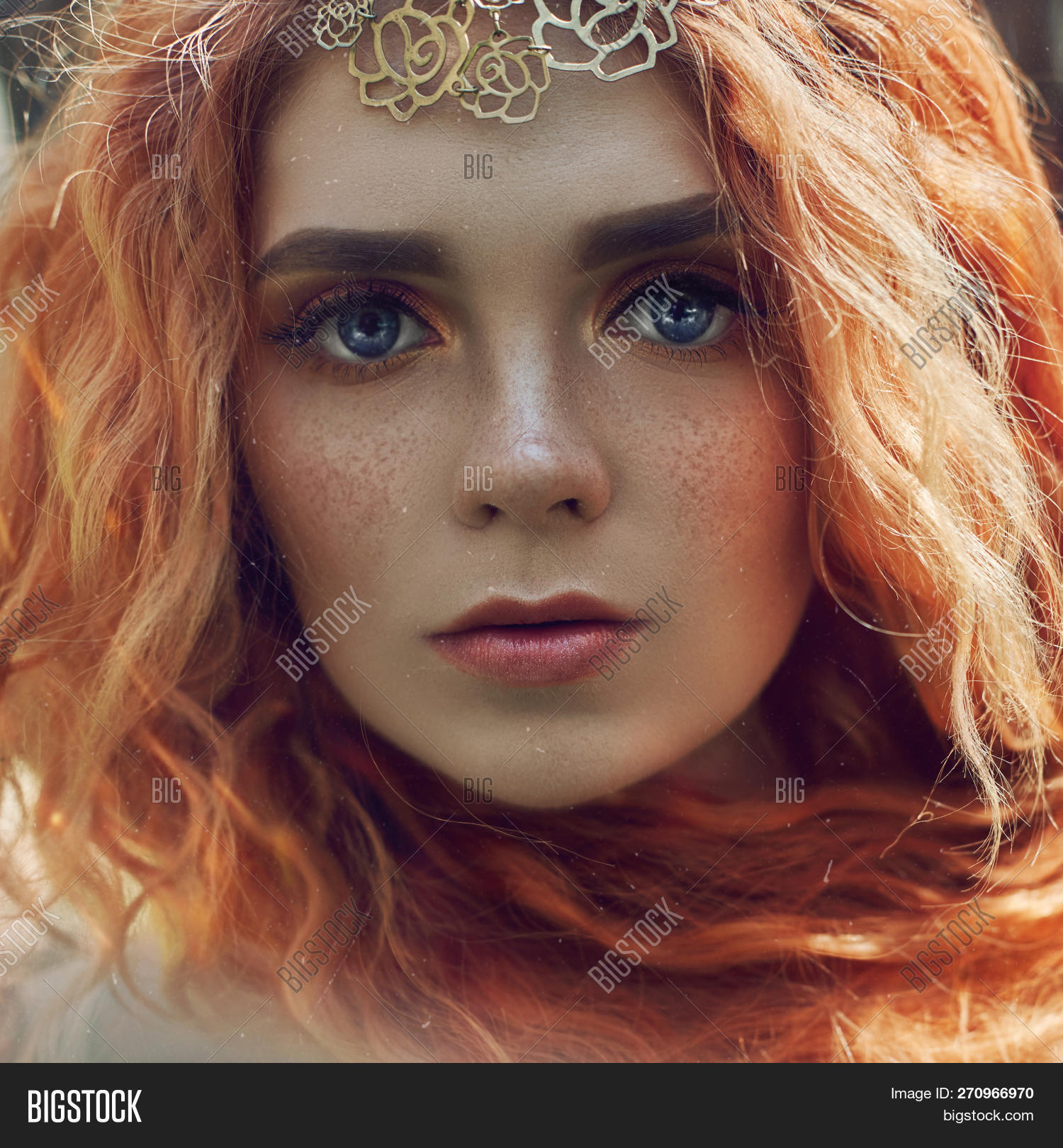 For beautiful redhead girls with freckles really. happens