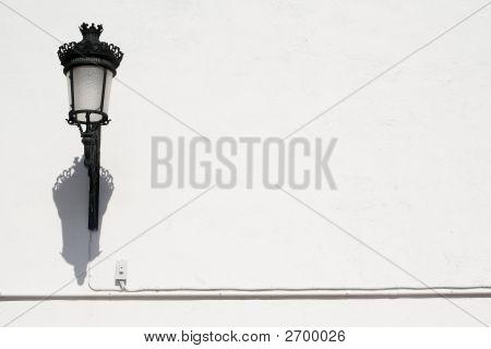 Lamp And Wall