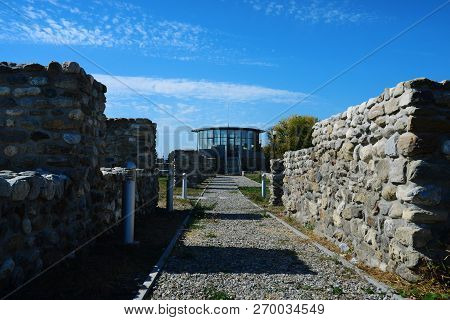 Drobeta Turnu Severin City Roman Fort Observatory Landmark Architecture Detail