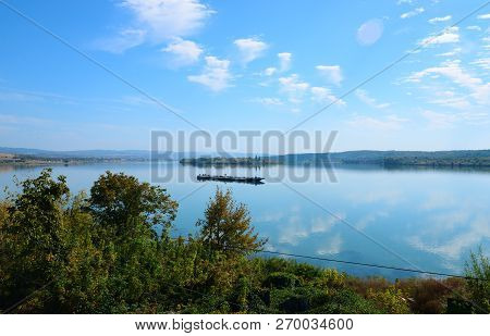 Drobeta Turnu Severin City Romania Simian Island View