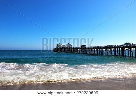 Malibu Lagoon State Beach In Malibu, California, Usa.
