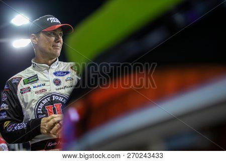 November 16, 2018 - Homestead, Florida, USA: Kevin Harvick (4) gets ready to qualify for the Ford 400 at Homestead-Miami Speedway in Homestead, Florida.