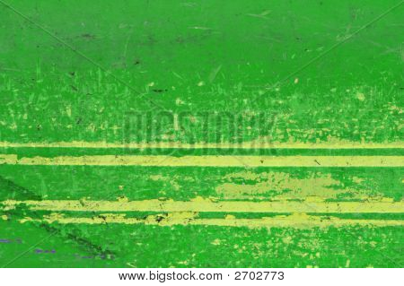Grungy Background In Green And Yellow