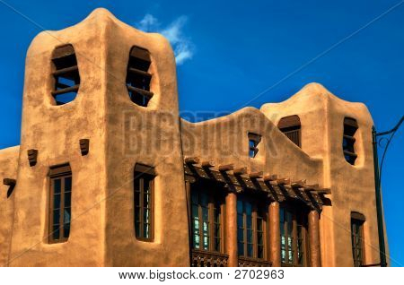 Modern Pueblo Architecture In New Mexico