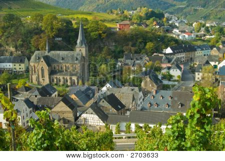Church At The Mosel