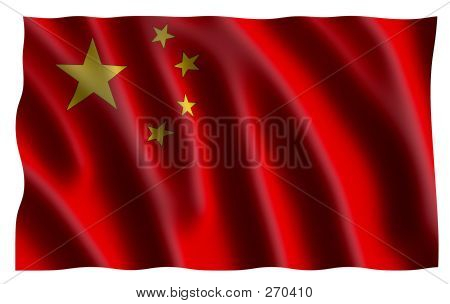 China's Flag (3d)