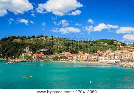 San Terenzo Village, Cinque Terre, Italy, Europe.