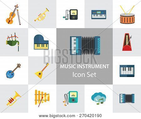 Music Instrument Icon Vector & Photo (Free Trial) | Bigstock