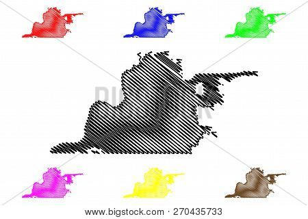 Memphis City (united States Cities, United States Of America, Usa City) Map Vector Illustration, Scr