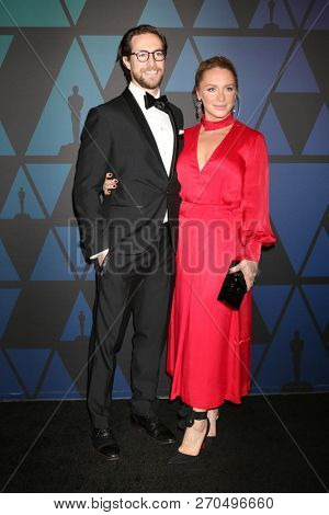 LOS ANGELES - NOV 18:  Marc Albu, Annie Starke at the 10th Annual Governors Awards at the Ray Dolby Ballroom on November 18, 2018 in Los Angeles, CA
