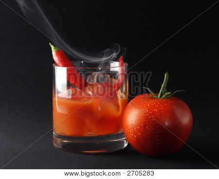 Icy Hot Tomato Drink