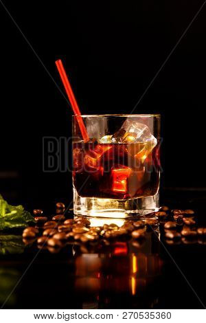 Black Russian Cocktail Is One Of The Official Cocktails Of The International Bartending Association