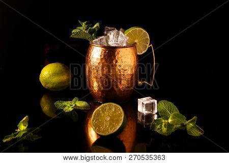 The Moscow Mule Cocktail Is One Of The Official Cocktails Of The International Bartending Associatio