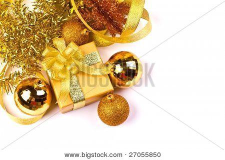 Christmas Gift isolated on white background