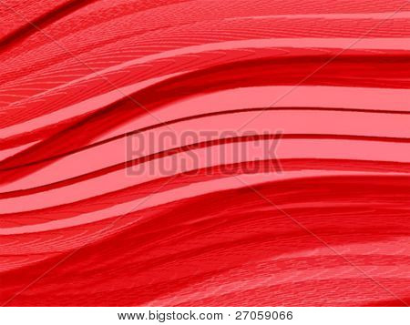 deep abstract red lines
