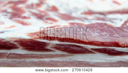 Fresh And Raw Meat And Pork Chops