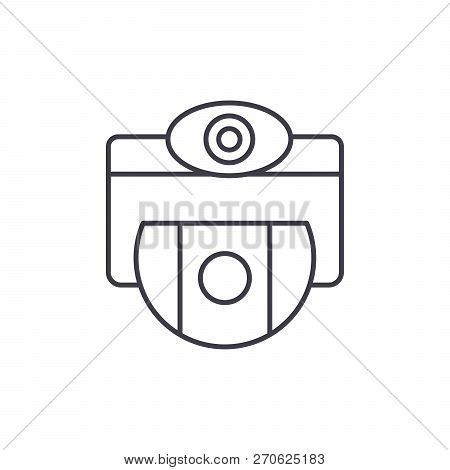 Vision Selection Line Icon Concept. Vision Selection Vector Linear Illustration, Symbol, Sign