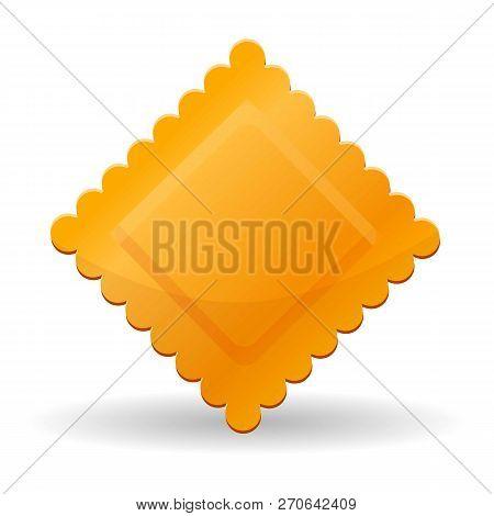 Ravioli Pasta Icon. Cartoon Of Ravioli Pasta Vector Icon For Web Design Isolated On White Background