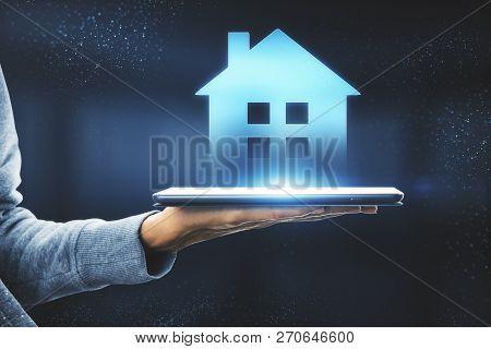 Smart Home And Ai Concept