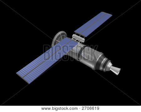 Back Top View Satellite