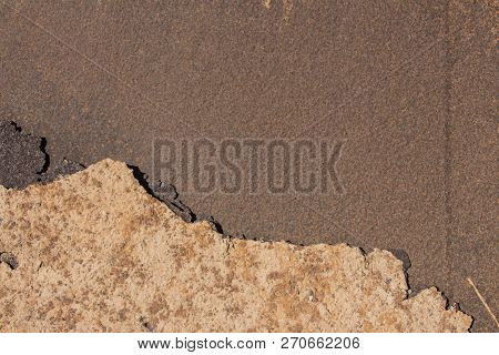 Grunge Texture And Background, Metal Corroded Texture, Rusty Metal Background, Old Metal Iron Rust B