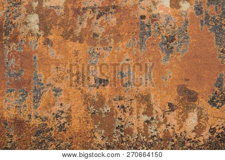 Rusty Metal Textured, Old Metal Iron Rust Background And Texture, Metal Corroded Texture, Rusty Meta