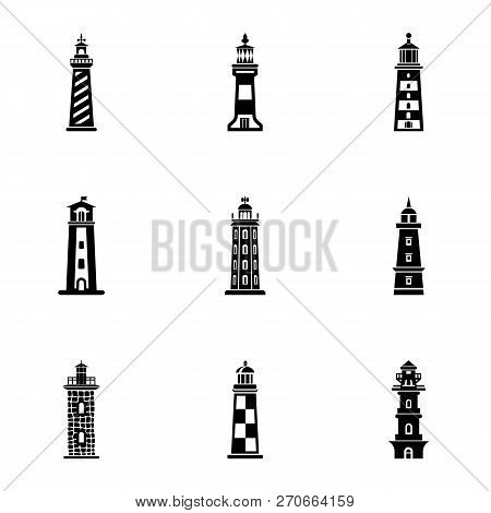 Enlighten Icons Set. Simple Set Of 9 Enlighten Vector Icons For Web Isolated On White Background