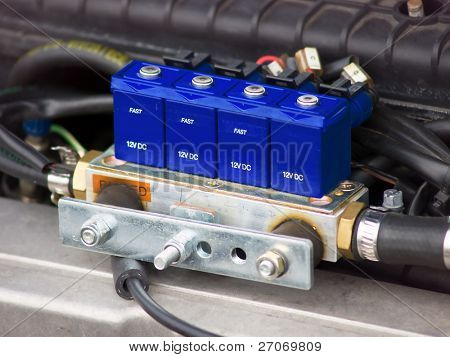 car sequential  gas injection