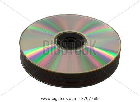 Heap Of Cd-Rom Disks