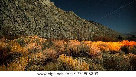 Sierra National Park Mountains Near Mammoth Lakes Californit