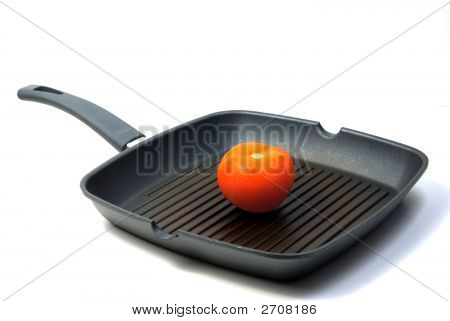 Tomato In Frying Pan