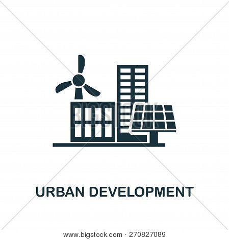 Urban Development Icon. Premium Style Design From Urbanism Icon Collection. Ui And Ux. Pixel Perfect