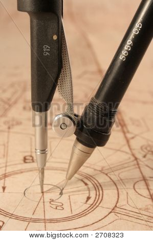 Blueprint And Compasses