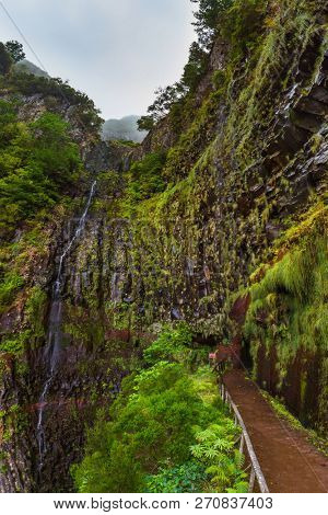 Risco levada in Madeira Portugal - travel background
