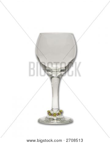 Wineglass With Charm