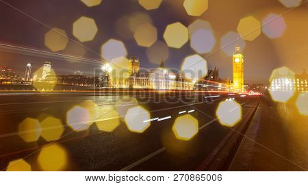 Holiday in London - Christmas lights and Big Ben