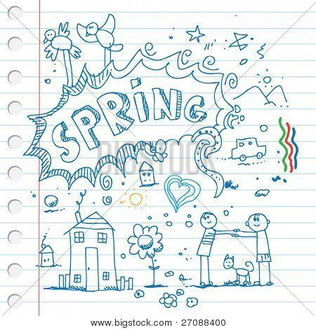 Spring scribbles