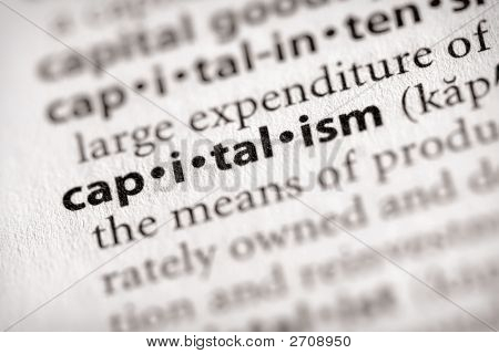 Dictionary Series - Economics: Capitalism
